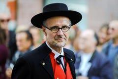 Editoriale, il 4 ottobre 2015: Barr, Francia: DES Vendanges di festa Immagini Stock