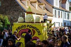 Editoriale, il 4 ottobre 2015: Barr, Francia: DES Vendanges di festa Fotografie Stock Libere da Diritti