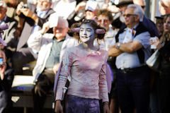 Editoriale, il 4 ottobre 2015: Barr, Francia: DES Vendanges di festa Fotografia Stock Libera da Diritti