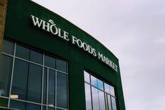 Editoriale: Mercato di Whole Foods fotografia stock