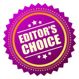 Editors choice icon Stock Photography