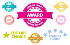 Editors Choice Retro Icons Royalty Free Stock Photos