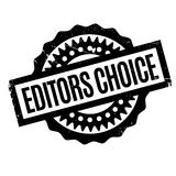 Editors Choice rubber stamp Stock Image