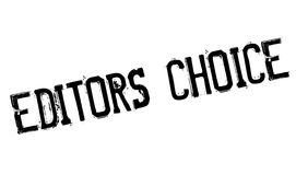 Editors Choice rubber stamp Stock Images