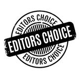 Editors Choice rubber stamp Stock Photography