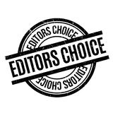 Editors Choice rubber stamp Stock Photos