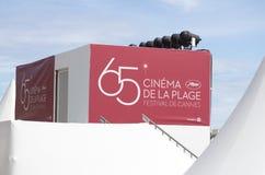 Edizione 2012 di festival di pellicola di Cannes sessantacinquesimo Fotografia Stock