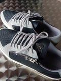 Edizione 02 del nero di scarpe Immagini Stock
