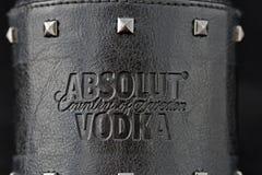 Edizione della roccia della vodka di Absolut Fotografia Stock