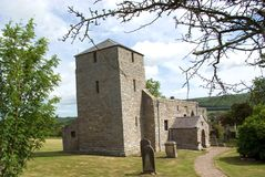 Edlingham Church Royalty Free Stock Images