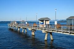 Free Edmonds Fishing Pier In Daylight Royalty Free Stock Photos - 216816448