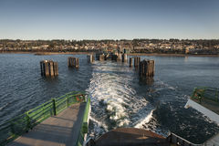 Edmonds, Washington Ferry Dock Royalty Free Stock Photography