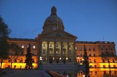 Edmonont, Alberta Legislature Stock Photo