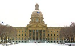 Edmonton, AB, Kanada 8 2014 Listopad: Alberta władzy ustawodawczej buildi obraz stock
