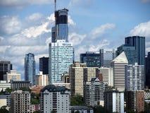 Edmonton Alberta Cityscape Or Skyline Photo libre de droits