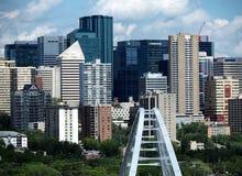 Edmonton Alberta Cityscape Or Skyline Royalty-vrije Stock Fotografie