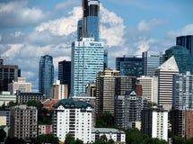 Edmonton Alberta Cityscape Or Skyline Stock Foto