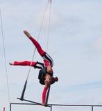 At Edmonton Alberta för trapetskonstnär K-dagar 2013 Royaltyfria Bilder