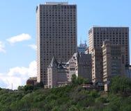 Edmonton Alberta Skyline Stock Photography