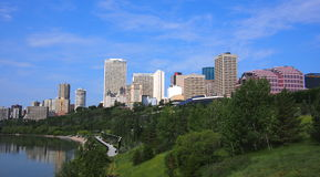 Edmonton Alberta Skyline Stock Images