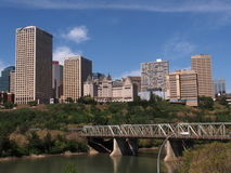 Edmonton Alberta Skyline Royalty Free Stock Image