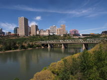 Edmonton Alberta Skyline Royalty Free Stock Photography