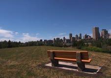 Edmonton Alberta Skyline Stock Image