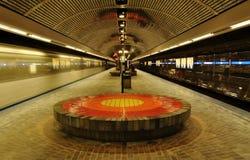 Edmonton-Bahnstation stockfotos