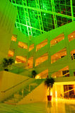 Edmonton city hall. The colorful interior look of the city hall, edmonton, alberta, canada Stock Photography