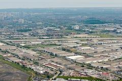 Edmonton city suburb Royalty Free Stock Photos