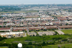Edmonton city suburb Royalty Free Stock Photo