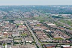 Edmonton city suburb Royalty Free Stock Image