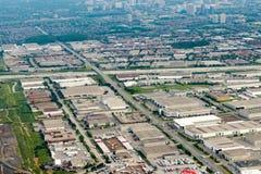 Edmonton city suburb Stock Photography