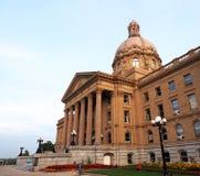 Edmonton di costruzione legislativo, Alberta immagine stock libera da diritti
