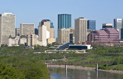 Edmonton Downtown Royalty Free Stock Photo
