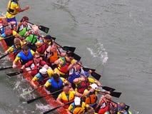 Edmonton Dragon Boat Festival Fotografia de Stock