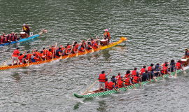 Edmonton Dragon Boat Festival Fotos de Stock Royalty Free
