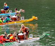 Edmonton Dragon Boat Festival Royalty Free Stock Photo