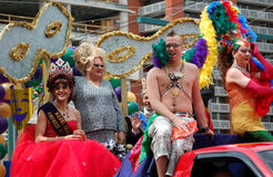 Edmonton gay pride parade Royalty Free Stock Image
