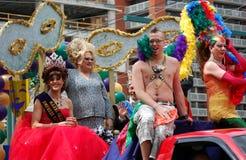 Edmonton gay pride parade. Pride parade in Edmonton,Alberta 2008 royalty free stock image