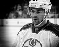 Edmonton Oilers Defenseman Justin Schultz Royalty Free Stock Photography