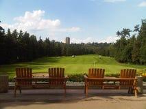 Edmonton pole golfowe Obrazy Stock