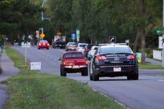 Edmonton policja obrazy royalty free