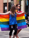 Edmonton Pride Parade Stock Image