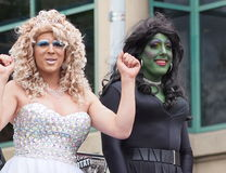 Edmonton Pride Parade Stock Photo