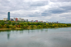 Edmonton from the River royalty free stock image