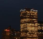 Edmonton Skyline At Night Royalty Free Stock Photography