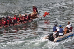 Edmonton smoka łodzi festiwal Fotografia Royalty Free