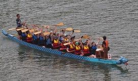 Edmonton smoka łodzi festiwal Obraz Royalty Free