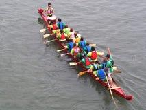 Edmonton smoka łodzi festiwal Obrazy Royalty Free